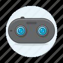 video, cam, actioncam, camera, dual, sensor icon
