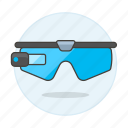 2, ar, augmented, camera, glasses, reality, smart, video icon