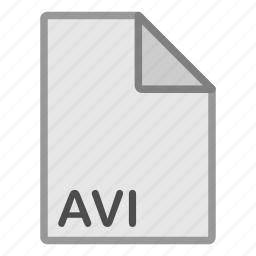 avi, extension, file, format, hovytech, type, video icon