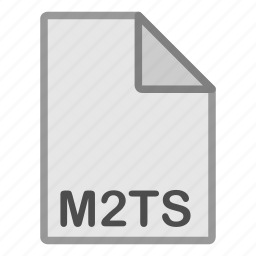 extension, file, format, hovytech, m2ts, type, video icon