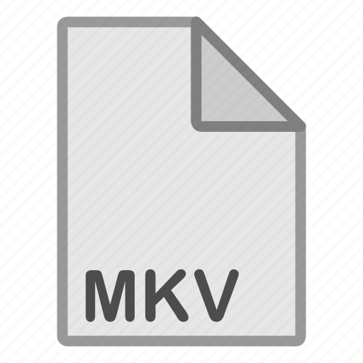 extension, file, format, hovytech, mkv, type, video icon