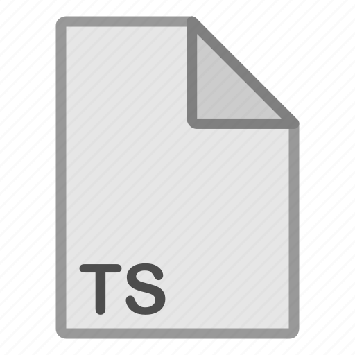 extension, file, format, hovytech, ts, type, video icon