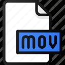 mov, file, movie, video, film, clip