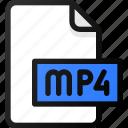 mp4, file, movie, video, film, clip