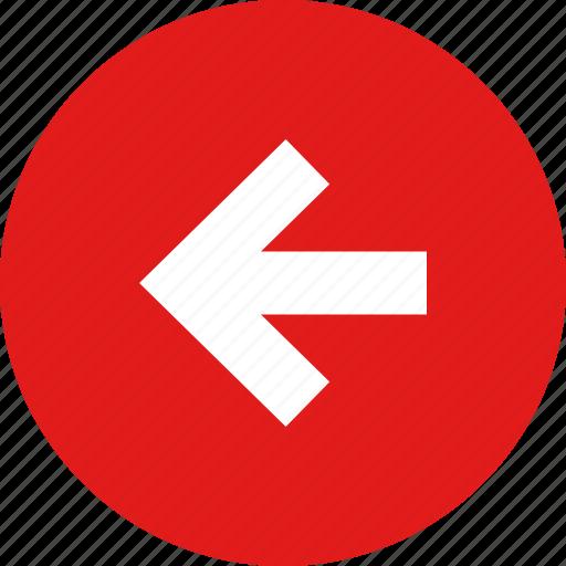 arrow, before, previous icon