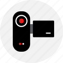 camcorder, digital, film, record, recorder, video icon