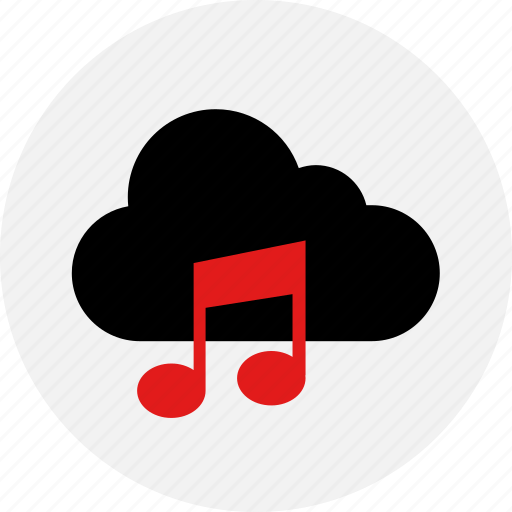cloud, live, music, online, stream icon
