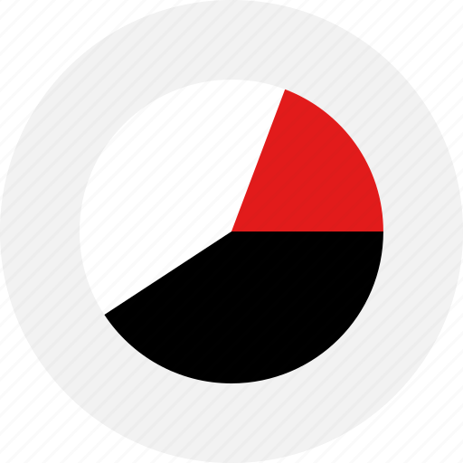 chart, graph, online, pie, report, youtube icon