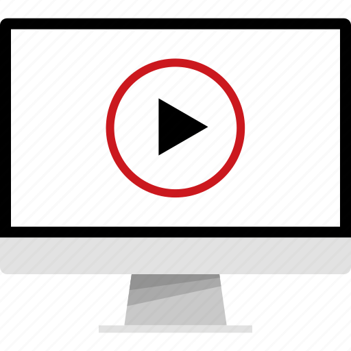 media, online, play, video, web, youtube icon