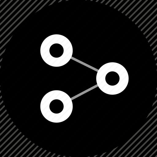 analytics, analyze, data, share icon