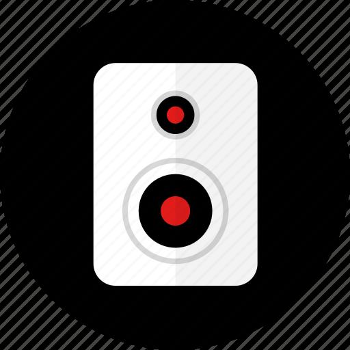 audio, record, sound, speaker, studio icon
