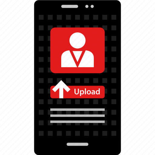 computer, mobile, online, uploading, video, web, youtuber icon