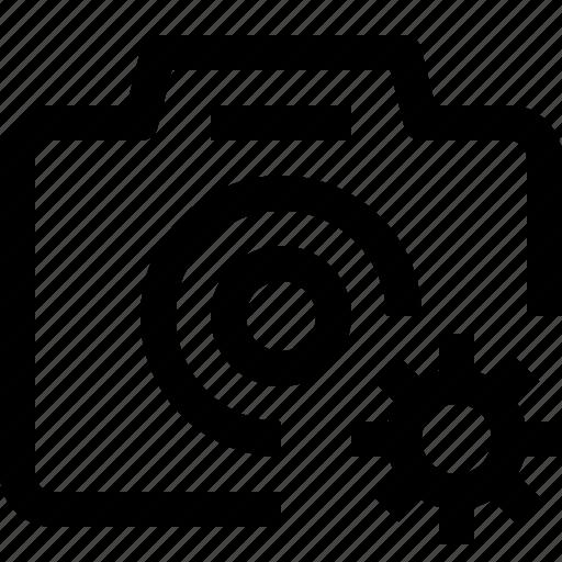 camera, dslr, equipment, image, media, photo, photography, setting, video icon