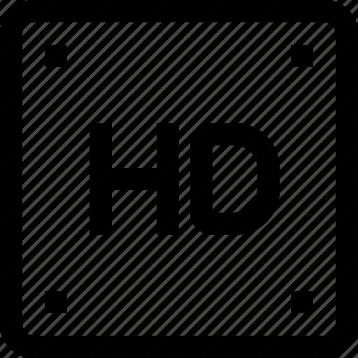 equipment, hd, image, media, photo, photography, video icon