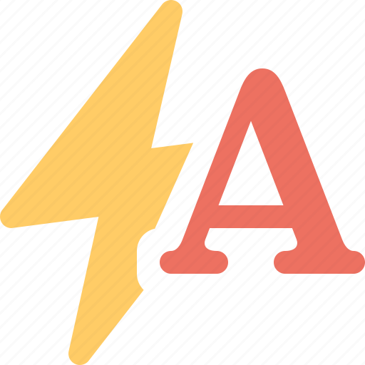auto, flash icon