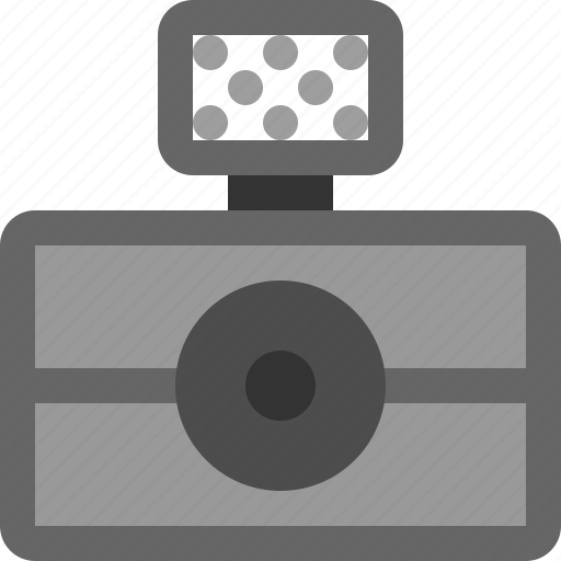 blitz, camera icon
