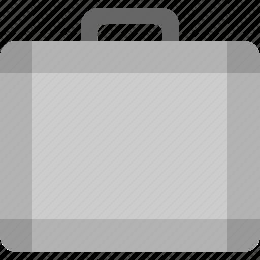 briefcase, camera icon