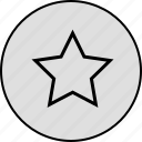 award, badge, bookmark, favourite, medal, star, winner icon