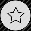 award, badge, bookmark, favourite, medal, star, winner icon