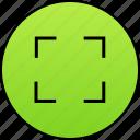 expand, fullscreen, large, max, maximize, maximum, screen icon