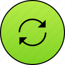 arrows, recharge, refresh, repeat, rotate, rotation, sync icon