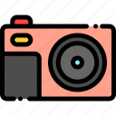 camera, photo, photography, pocket icon