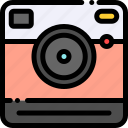 camera, instant, photo, polaroid icon