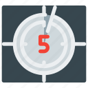 countdown, frame, movie, opening, sequence, target, timer icon