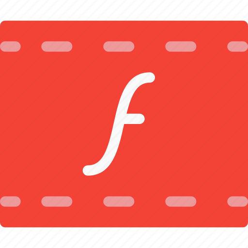 file, flash, format, multimedia, player, type, web icon