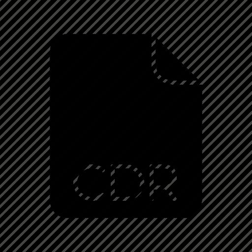 Cdr, image file format icon - Download on Iconfinder