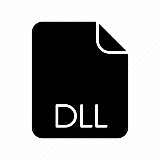 dll, system file format icon