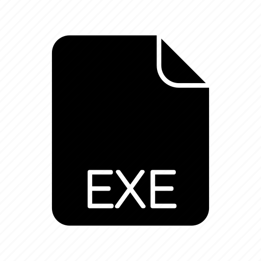 exe, system file format icon