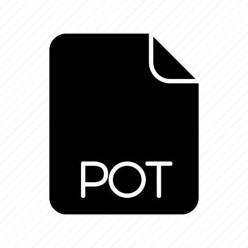 Document file format, pot icon - Download on Iconfinder