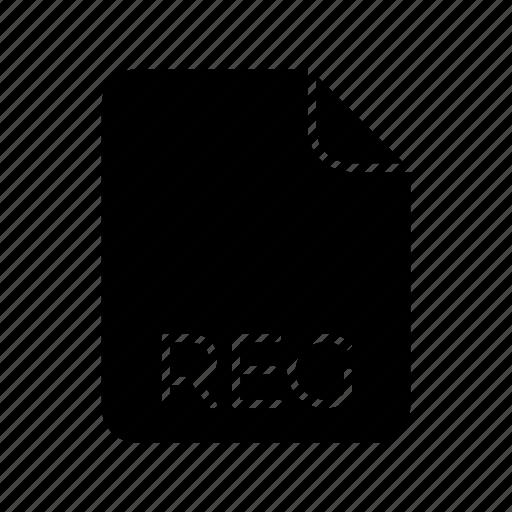 reg, system file format icon
