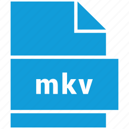 extension, file, file format, mkv, video file format icon