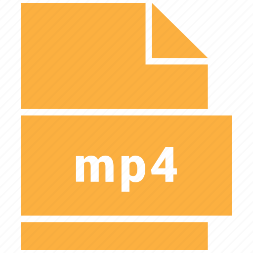 icojam, mp4, video file format icon