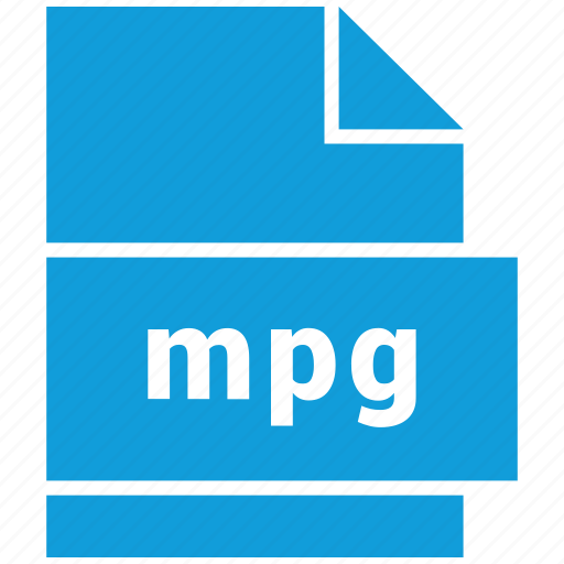 mpg, video file format icon
