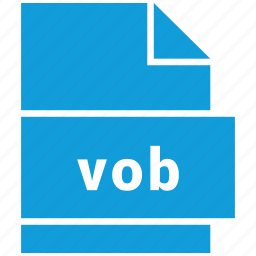 file format, video, video file format, vob icon