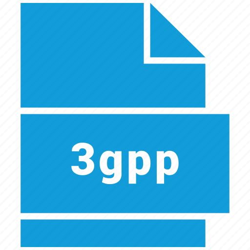 3gpp, file format, video, video file format icon