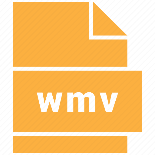 video file format, wmv icon