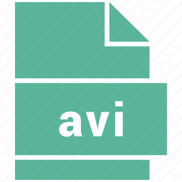 avi, video file format icon