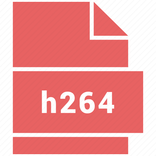 file format, h264, video, video file format icon