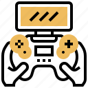 gamepad, games, joystick, portable, wireless icon
