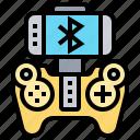 bluetooth, gamepad, joystick, smartphone, wireless