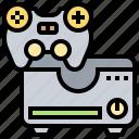 box, console, game, gamer, joystick icon