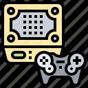 arcade, console, game, hardware, retro icon