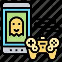 gadget, game, joystick, leisure, smartphone icon