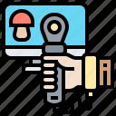 control, joystick, motion, technology, wireless icon