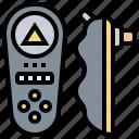 bluetooth, click, control, remote, wireless icon