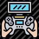 gamepad, games, joystick, portable, wireless